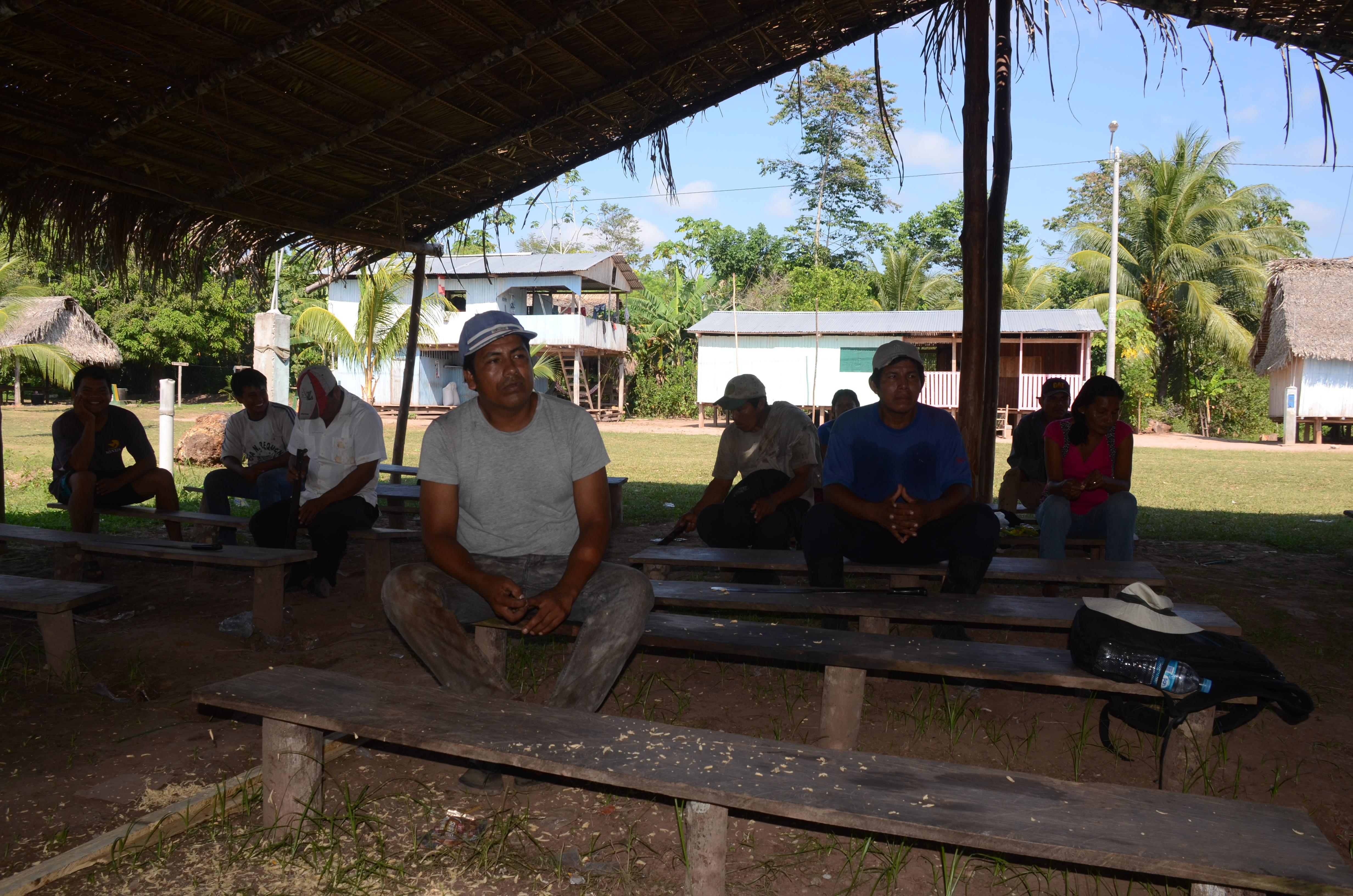 La comunidad de Santa Clara de Uchunya lleva varios años esperando la ampliación de su territorio. Foto: Yvette Sierra Praeli.