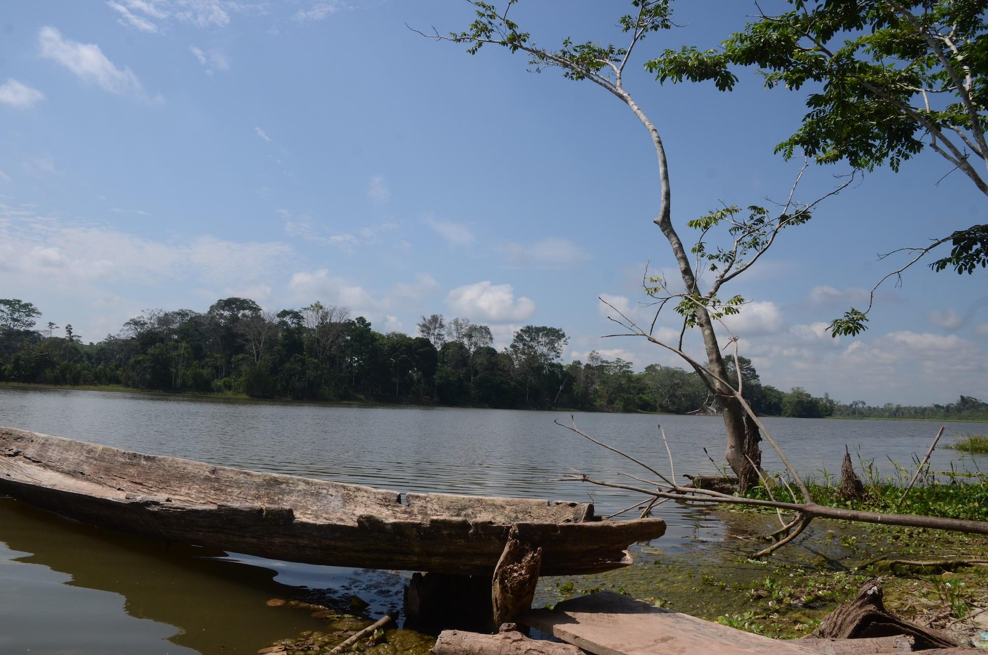 Paisaje de la comunidad Santa Clara de Uchunya. Foto: Yvette Sierra Praeli.