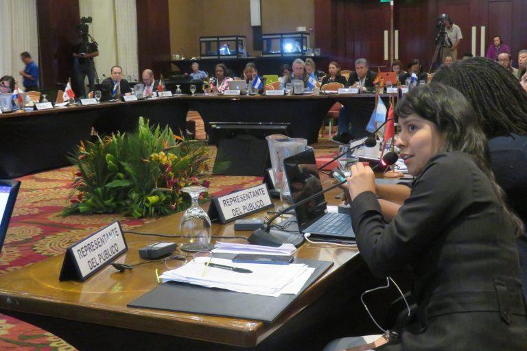 La Alianza de Clínicas Jurídicas Ambientales exhorta a los países latinoamericanos que ratifiquen el Acuerdo de Escazú. Foto: DAR.