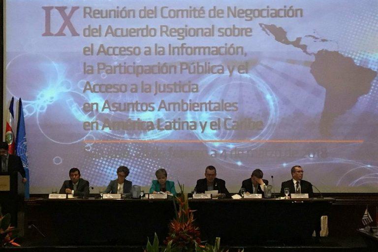 Las negociaciones del Principio 10 empezaron en 2016 y culminaron en 4 de marzo de 2018. Foto: Natalia Gómez