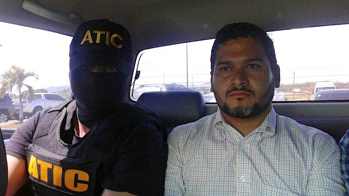 David Castillo Mejía fue captura por las autoridades hondureñas el 2 de marzo. Foto: Cortesía del Ministerio Público.