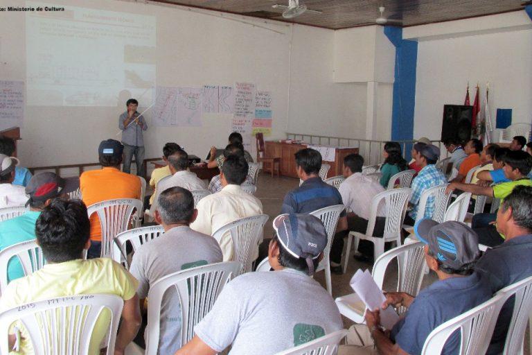 El proceso de consulta previa para la Hidrovía Amazónica se realizó en el año 2015. Foto: DAR.