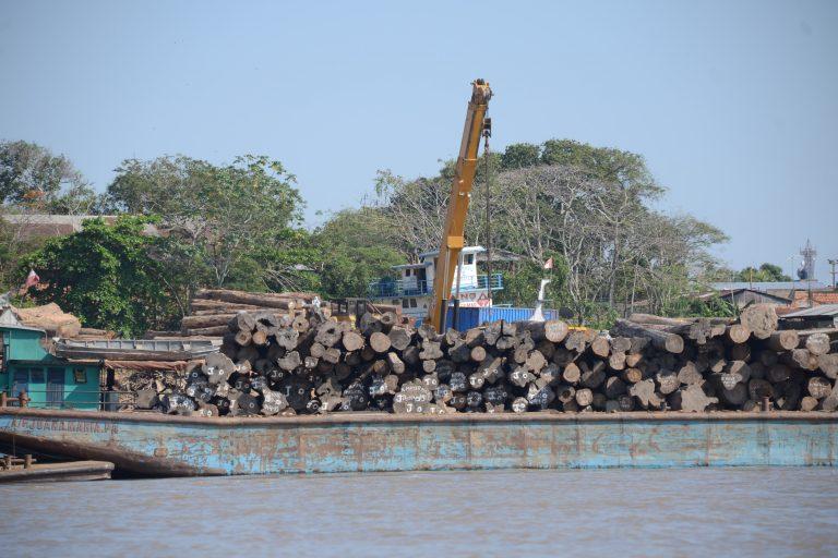 La Hidrovía Amazónica se construirá sobre los ríos Huallaga, Marañón, Ucayali y Amazonas. Foto: Yvette Sierra Praeli.