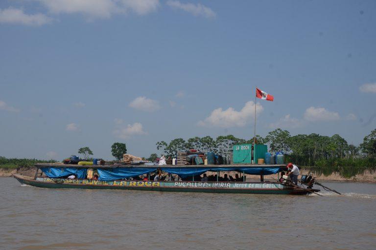 La Hidrovía Amazónica se desarrollará en los ríos Ucayali, Marañón, Huallaga y Amazonas. Foto: Yvette Sierra Praeli.