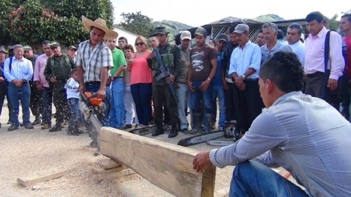 El Grupo Ecológico de Los Castores se conformó como un Grupo Asociativo de Trabajo. Foto: CAM.