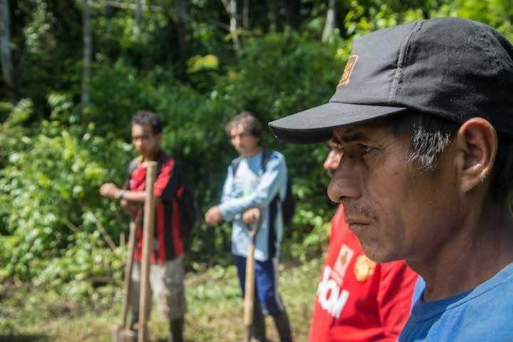 1.La zonificación forestal que se ha empezado a trabajar en San Martín es una herramienta de planificación y uso del territorio que por primera se construye de manera participativa en una región amazónica. Foto: Aldo Arozena.