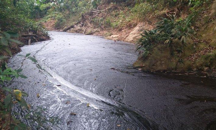 Quebrada La Lizama. Foto: Cortesía Comité de Concertación la Vizcaína.