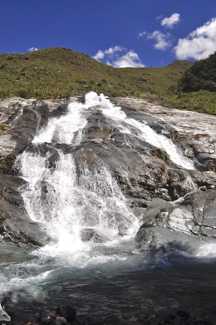 Las fuentes de agua de Sama abastecen a la población de Tarija, ciudad ubicada al sur de Bolivia. Foto: Sernap.