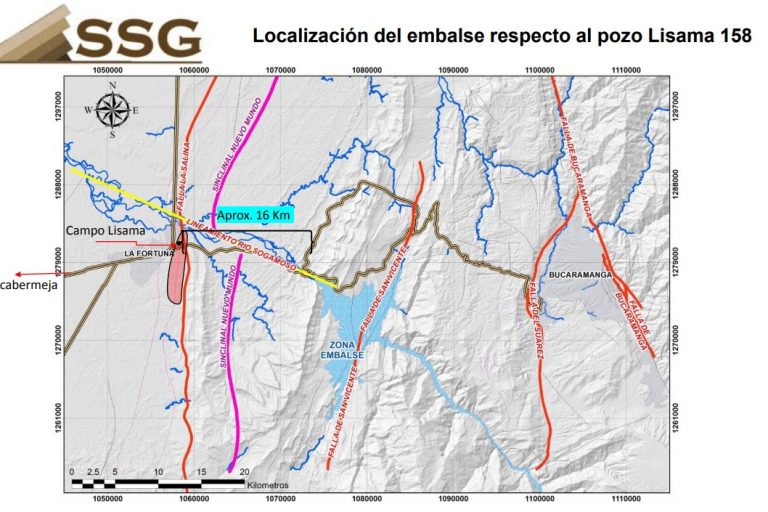 La hipótesis de la Sociedad Santandereana de Geotecnia (SSG) es una de las que más fuerza ha tomado. Foto: Informe SSG.
