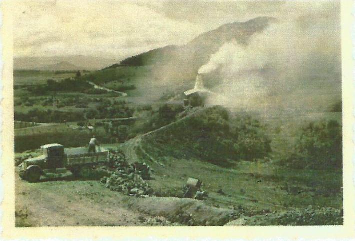 Así lucía el espacio que ocupaba la mina y que hoy ha sido recuperado. Foto: Archivo Fundación Natura.