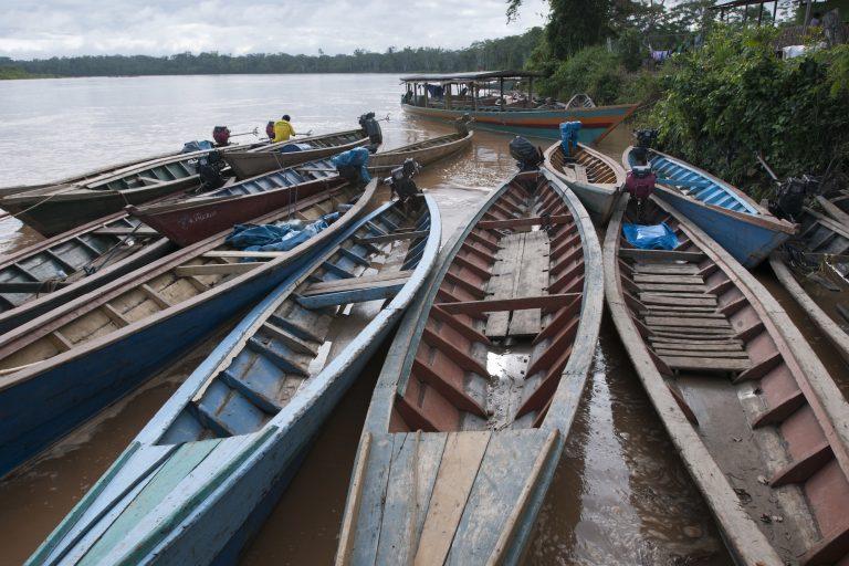 minería ilegal en la Amazonía El territorio de la Reserva Comunal Amarakaeri está amenazado por la extracción de oro ilegal.