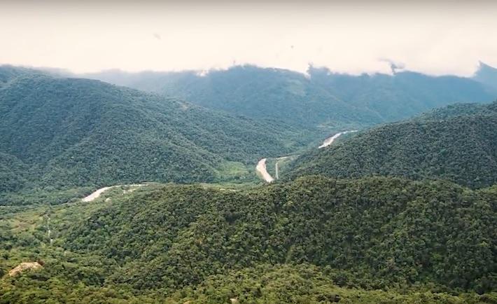 Los bosques de Camanti son parte de un gran corredor de conservación en la zona sur del Perú, junto con Tambopata, Bahuaja Sonene, Amarakaeri y el Manu. Foto: jvfilmmakers.