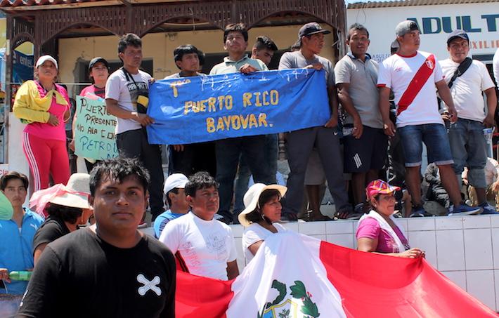 Los maricultores temen una nueva contaminación en la bahía de Sechura que impida producir y exportar concha de abanico. Foto: Rita García.
