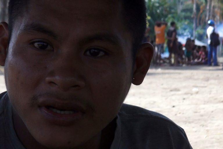 Joaquín Dajadad Nimbe, líder o 'weepo' del asentamiento Nukak de Agua Bonita en San José del Guaviare. Foto: Alberto Castaño