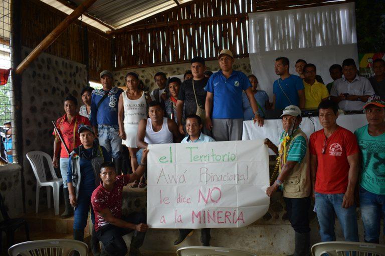 En la provincia de Esmeraldas, la minería se suma a la deforestación para obtener maderas finas, la expansión de los cultivos de palma africana y los conflictos por tierras. oto: Observatorio Minero, Social y Ambiental del Norte del Ecuador.
