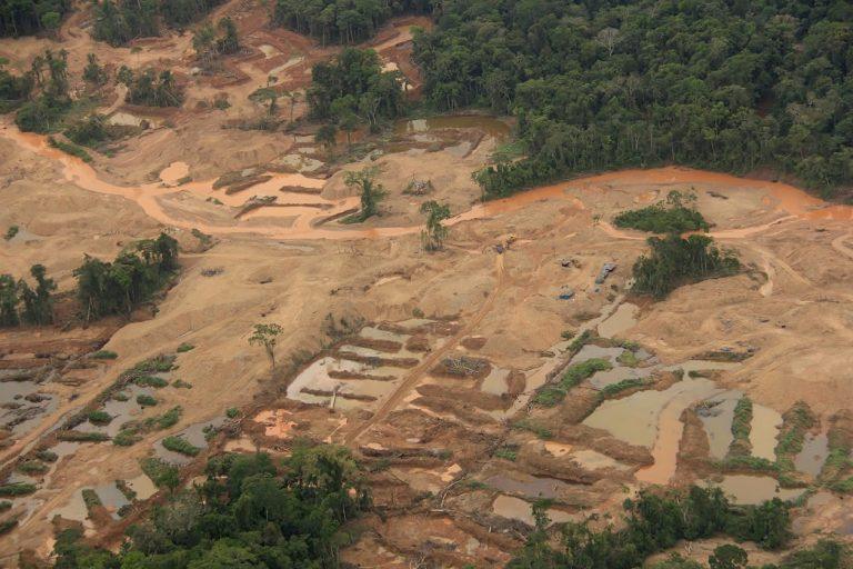 La comunidad nativa Kotsimba es otra de las zonas de alta deforestación en la Amazonía sur de Perú. Foto: Sernanp.