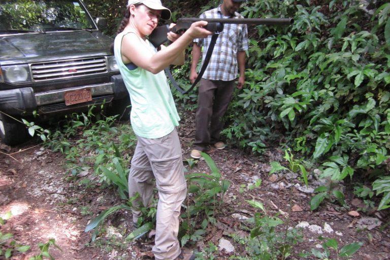 Para enfrentar la caza ilegal se desarrollaron algoritmos para los diversos tipos de disparos. Foto: Universidad de Southampton.
