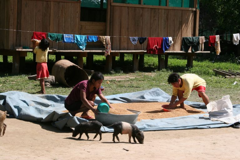 El pueblo Tacana elaboró la microzonificación que permite decidir donde realizar una actividad, proyecto o emprendimiento. Foto: WCS Bolivia.