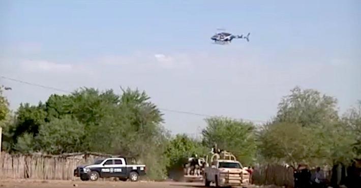 Captura de video del 21 de octubre de 2016 cuando llegaron las fuerzas del orden a intervenir. Crédito: La Marabunta Filmadora.