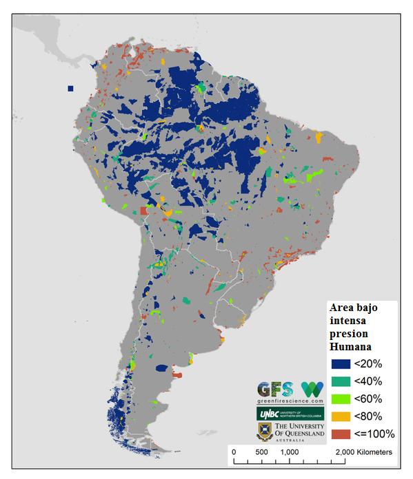 El clima y las condiciones geográficas de La Patagonia ayudan a que las áreas protegidas en esta región también estén en buen estado de conservación.