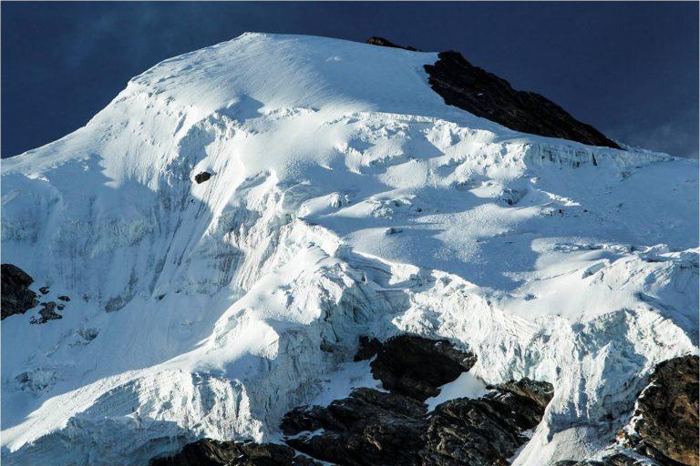 Los pisos altitudinales en el Parque Nacional Madidi varían desde los 180 metros hasta los 6000 metros de altura. Foto: WCS.