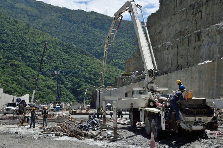 Si la presa colapsara se viviría una de las peores tragedias en la historia de Colombia. Foto: EPM.
