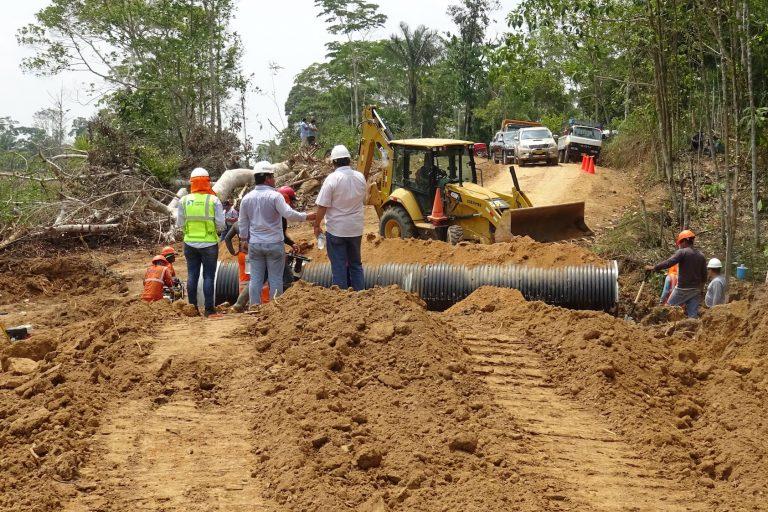 La clínica jurídico ambiental de la Universidad Católica en Perú tiene el caso de la carretera Yurimaguas Jeberos. Foto: Gobierno Regional de Loreto.