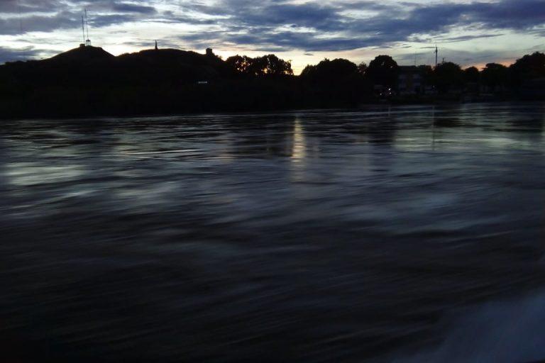 Atardecer en el río Bita, departamento del Vichada. Foto: Ministerio de Ambiente de Colombia.