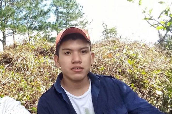 Héctor Choc Cuz, 18 años, fue apaleado hasta la muerte a las afueras de El Estor y murió el 31 de marzo de 2018. Imagen cortesía de Angélica Choc.