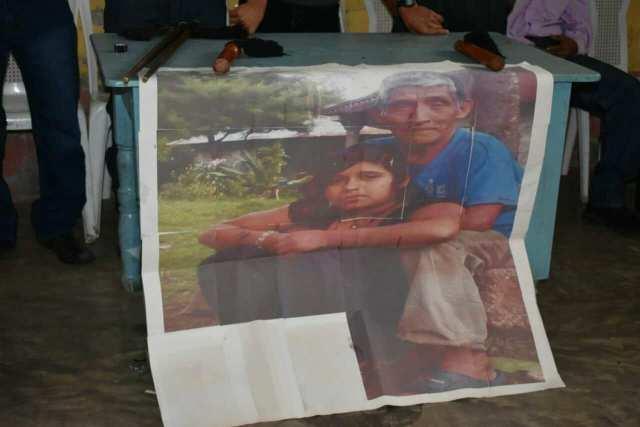 Sebastián Alonso Juan fue asesinado tras haber participado en una protesta por la construcción de estas tres represas. Foto: Francisco Simón.
