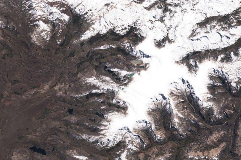 El nevado Quelcaya es el nevado tropical más extenso del planeta. Foto: Foto: Cortesía UMass Climate System Research Center.