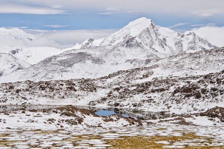 El nevado Quelcaya sería afectado de iniciarse explotaciones mineras en las nuevas concesiones. Foto: Archivo Mongabay.