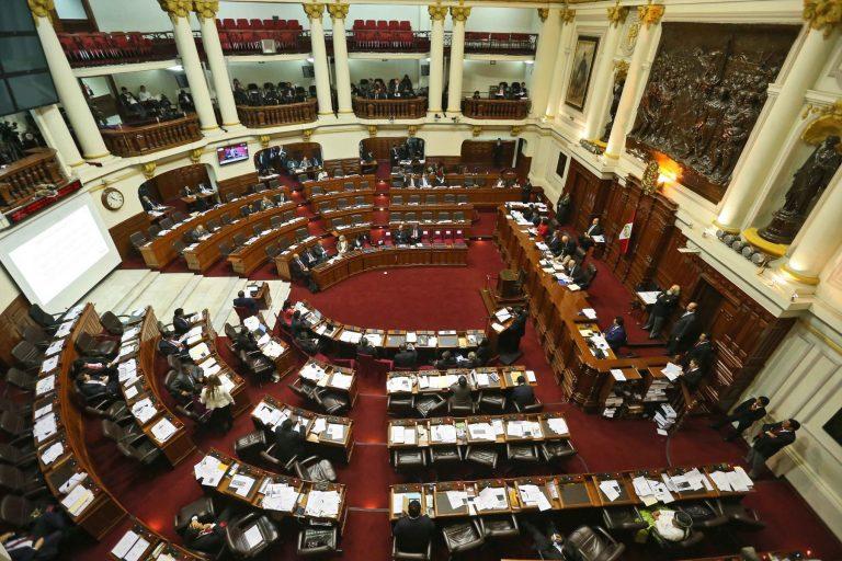 Se espera que en la próxima legislatura del Congreso de la República de Perú se debata la ley de plásticos desechables. Foto: Agencia Andina.