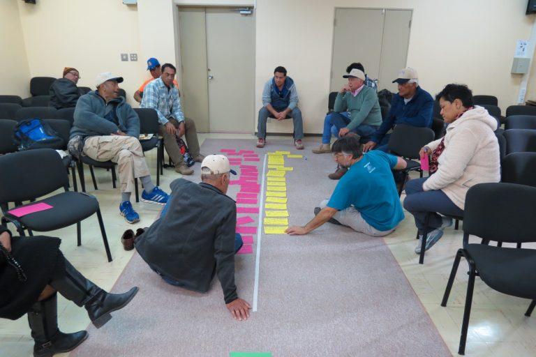 El proceso de creación de área marina protegida contó con la participación del pueblo Rapa Nui. Foto: Esmoi.