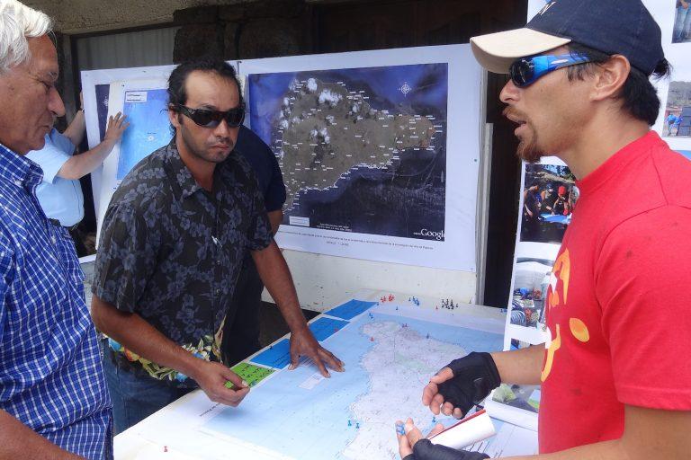 El proceso para la creación del área marina protegida Rapa Nui duró varios años. Foto: Esmoi.