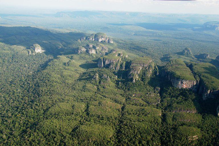 El Parque Nacional Serranía de Chiribiquete fue declarado Patrimonio mixto por su importancia natural y cultural. En el mundo solo existen 36 sitios como este. Foto: Parques Nacionales.