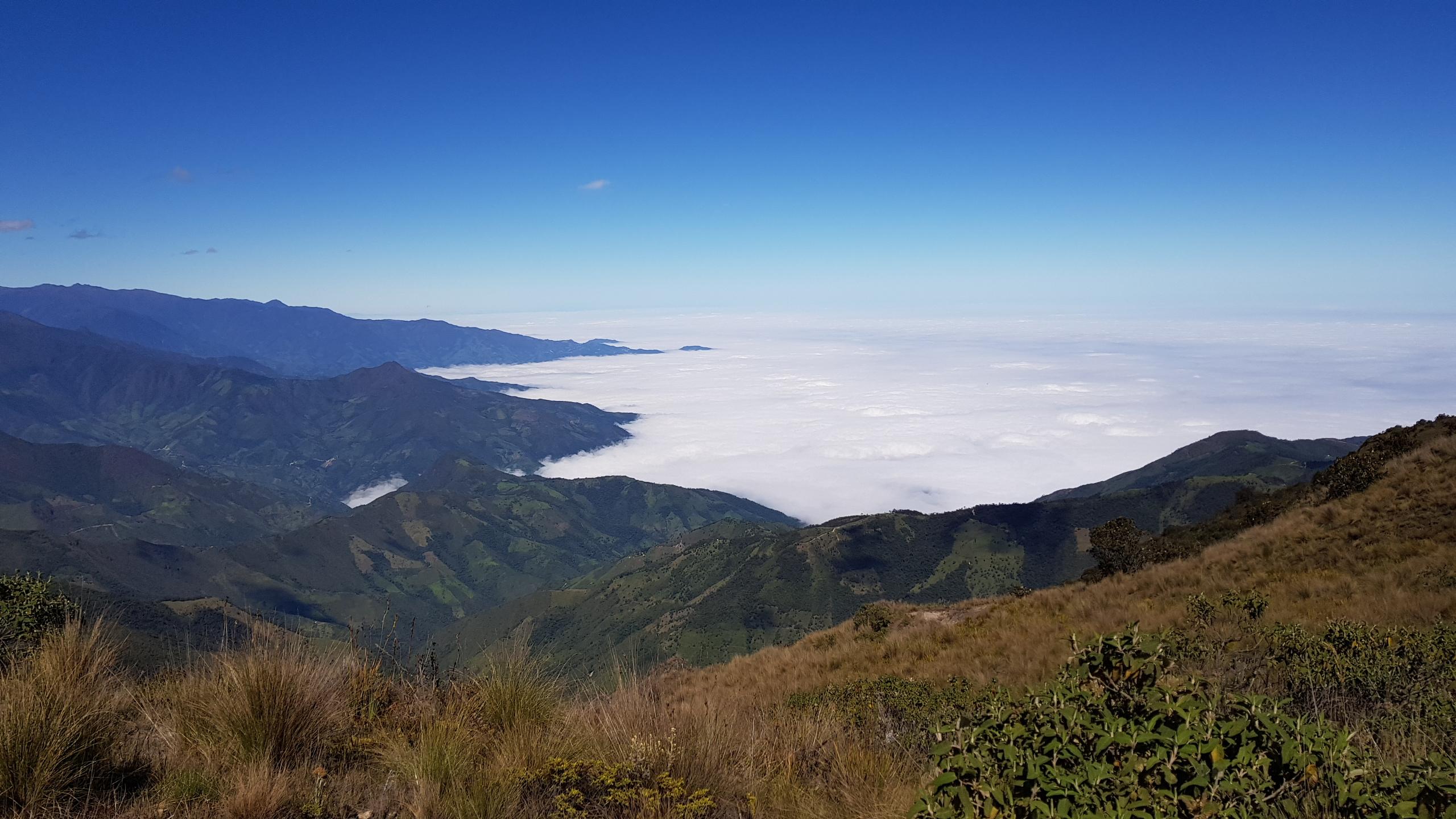 La zona donde está situado el proyecto Río Blanco está a unos 3900 metros sobre el nivel del mar y es rica en fuentes de agua.
