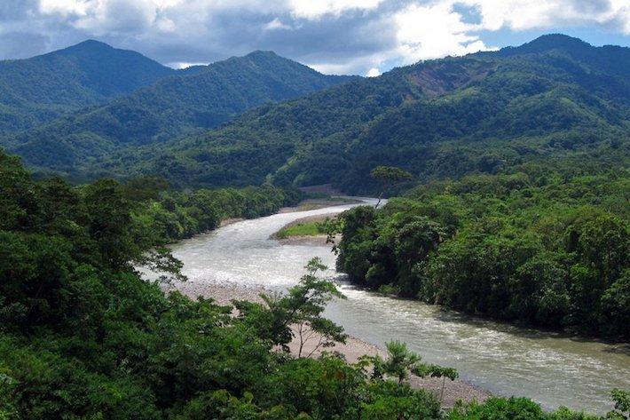 Río Ivirizu. Foto: Cortesía Senado de Bolivia.