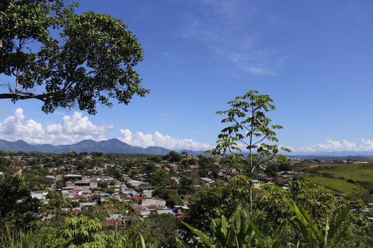 Panorámica del municipio de San Vicente del Caguán en el departamento de Caquetá. Hoy es el más deforestado de Colombia. Foto: Cortesía Agencia de Prensa / Instituto Popular de Capacitación (IPC).