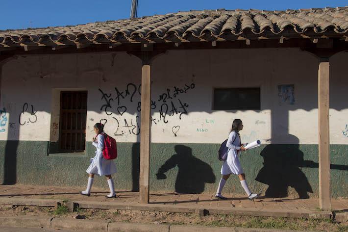 Los índices de pobreza en Charagua alcanzan al 70% de su población. Las expectativas de los habitantes en el cambio de modelo de gobernanza son altas. Foto: Flor Ruíz.