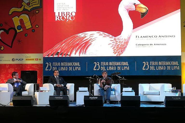 El Libro rojo de la fauna silvestre amenazada del Perú se presentó en julio de 2018. Foto: Serfor.