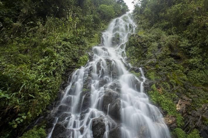 El recurso hídrico es uno de los servicios ambientales más importantes del corredor. Foto: NCI - Fabián Rodas.