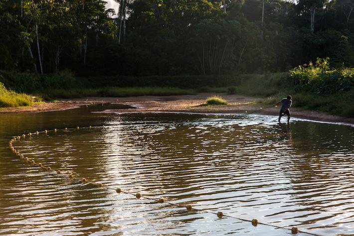 Los habitantes de la Comunidad Ese'eja de Infierno, en Madre de Dios, no se resignan a perder sus bosques, sobre todo porque apuestan por un aprovechamiento sostenible de los recursos. Foto: Diego Pérez/SPDA.