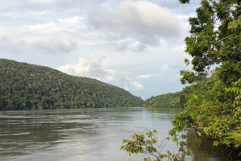 El Parque Nacional Natural Yaigojé Apaporis se encuentra en el suroriente de Colombia, entre los departamentos de Amazonas y Vaupés. Foto: Parques Nacionales Naturales de Colombia.