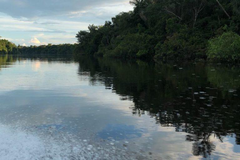 Paisaje en el Parque Nacional Natural Yaigojé Apaporis. Foto: Parques Nacionales Naturales de Colombia.