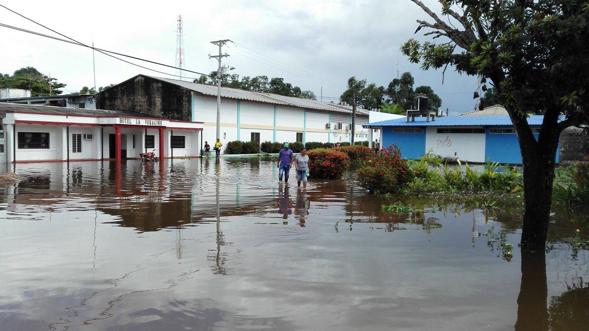 Algunos ríos en Vichada y Guainía han alcanzado niveles que sus habitante jamás habían visto. Foto: Twitter @oscarivanperez