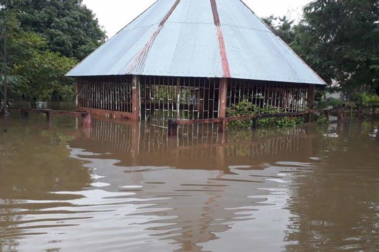 El departamento de Guainía vive la peor ola invernal y de inundaciones de los últimos 45 años. Foto: Twitter Nazly Cuevas @nazly927