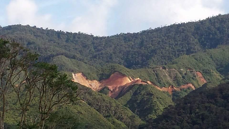 Cordillera del Cóndor. Foto: Comunidad Amazónica de Acción Social Cordillera del Cóndor Mirador (Cascomi).