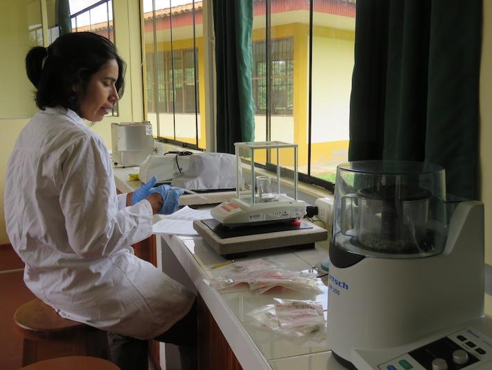 Muchos años después, un laboratorio de análisis de mercurio en Madre de Dios, que comienza a cazar la presencia del metal. Foto: CINCIA.