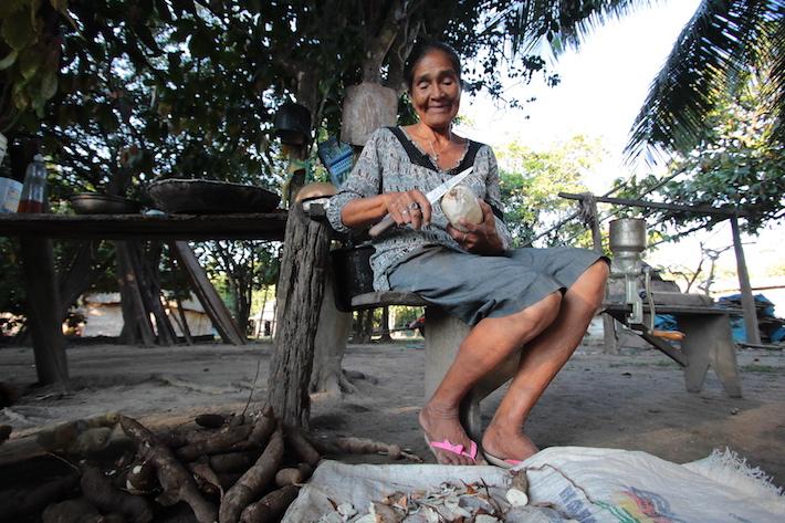 Los habitantes de Trinidadcito no se siente pobres, pero sí 'castigados' por el Estado. Foto: Jorge Gutiérrez.